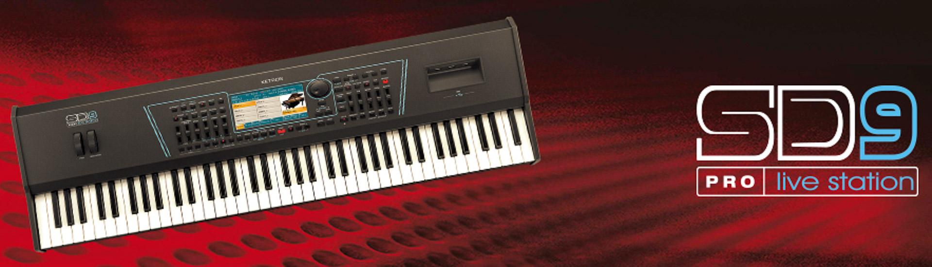 Ketron teclados profissionais SD9