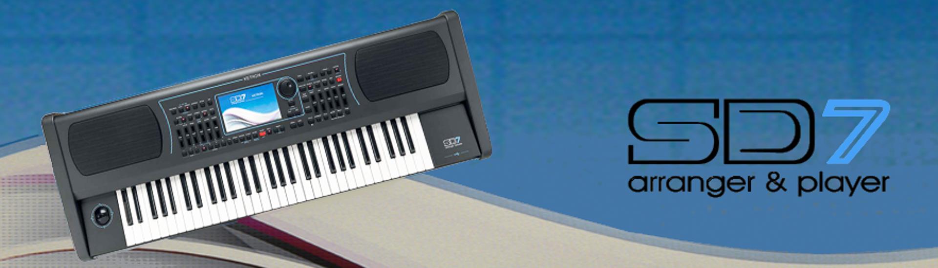 Ketron teclados profissionais SD7
