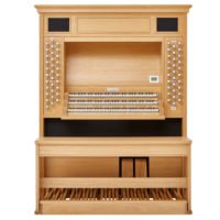 1_Órgão Johannus LiVE_3P - Imagem frontal do orgão